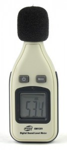 เครื่องวัดความดังเสียง Benetech รุ่น GM1351