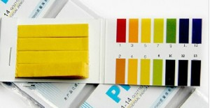 กระดาษลิตมัสวัด pH