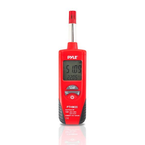 เครื่องวัดอุณหภูมิ PYLE-METERS PTHM20